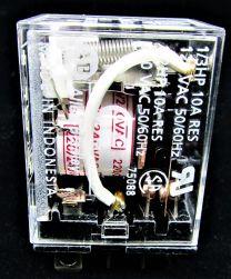 RELAY 2 POLE 10A 240VAC COIL A-B