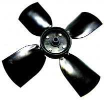 FAN IMPELLOR 25 DEGREE - 60Hz - BLACK