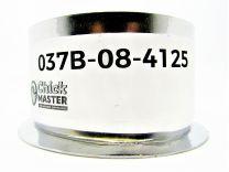 Aluminum thimble 3.87 OD X 2.17.