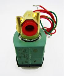 VALVE SOLENOID; 220 VOLTS , AC, 50/60 HERTZ , NORMALLY OPEN, N.O. ASCO WATER