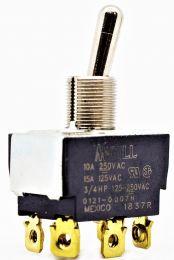 SW TGL DP 10A-250V ON-OFF-M ON