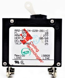 Circuit Breaker 20 amp 2 pole G/P