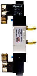 CYLINDER VALVE BT 1/4 NPT 24VDC W/CON VA