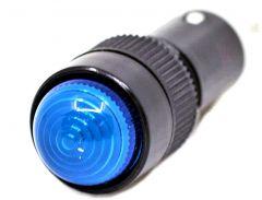10MM PILOT LIGHT, 24V AC/DC, LED, BLUE