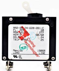 C/B 020.00 AMP 2 POLE G/P
