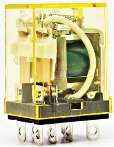 RLY 24VDC DPDT 10A 8 PIN SOC