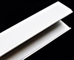 RACEWAY WHITE PVC 3.25 X 3.12 X 72.0