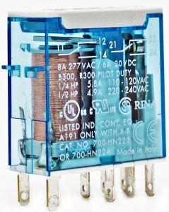 RLY DPDT 24VDC COIL AB 700-HK32Z24