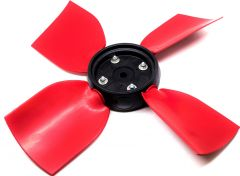 FAN IMPELLOR 30 DEGREE - 50 Hz - RED